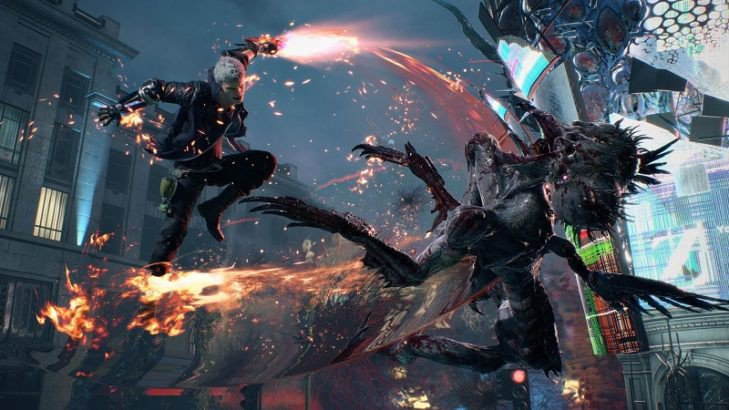 Devil May Cry 5 Gameplay Demo Keluar Di E3